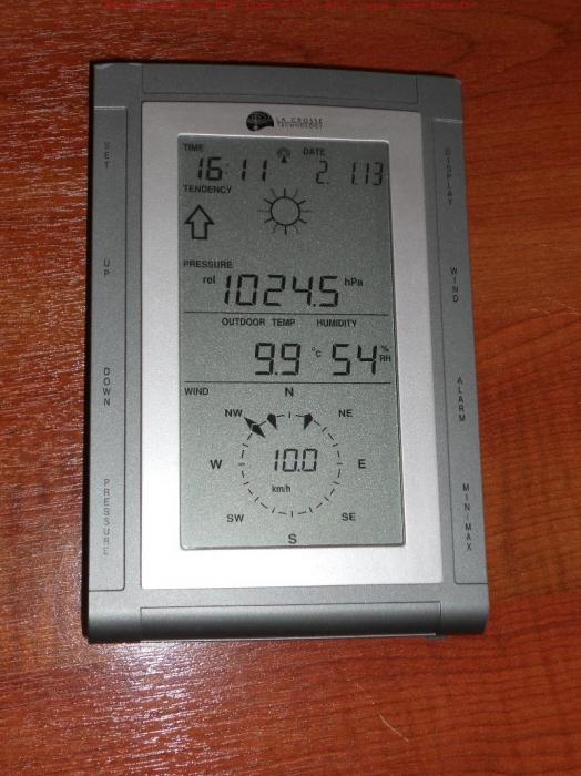Photo de la console La Crosse Technology WS2357
