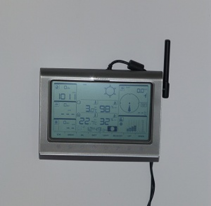 Photo de la console Oregon Scientific WMR200