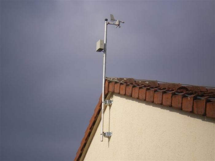 Photo pluviomètre La Crosse Technology WS2355