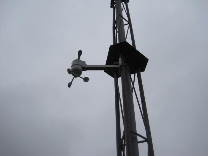 Photo anémomètre Oregon Scientific WMR88