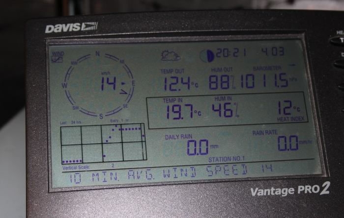 Photo de la console Davis Instrument Vantage Pro2