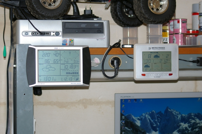 Photo de la console PCE Instruments PCE-FWS 20