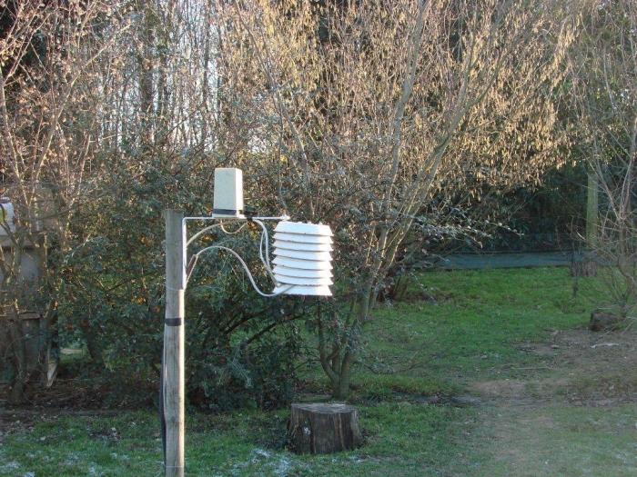 Photo pluviomètre La Crosse Technology WS2305