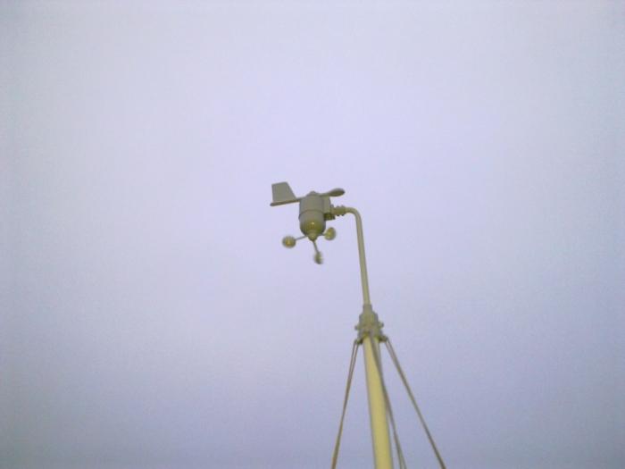 Photo anémomètre Oregon Scientific WMR100