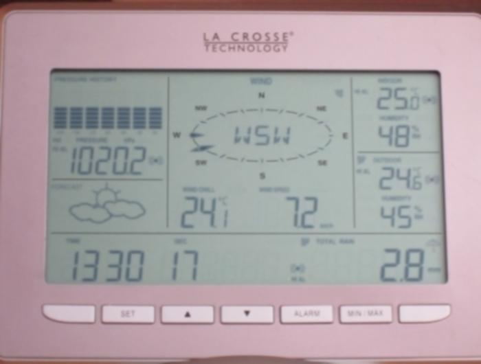 Photo de la console La Crosse Technology WS2800